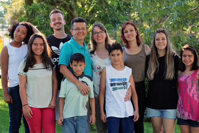 Família de Ingrid