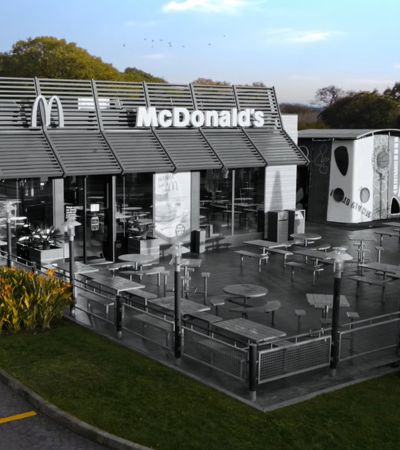 McDonald's em Portugal fica em preto e branco para comemorar 50 anos do Big Mac