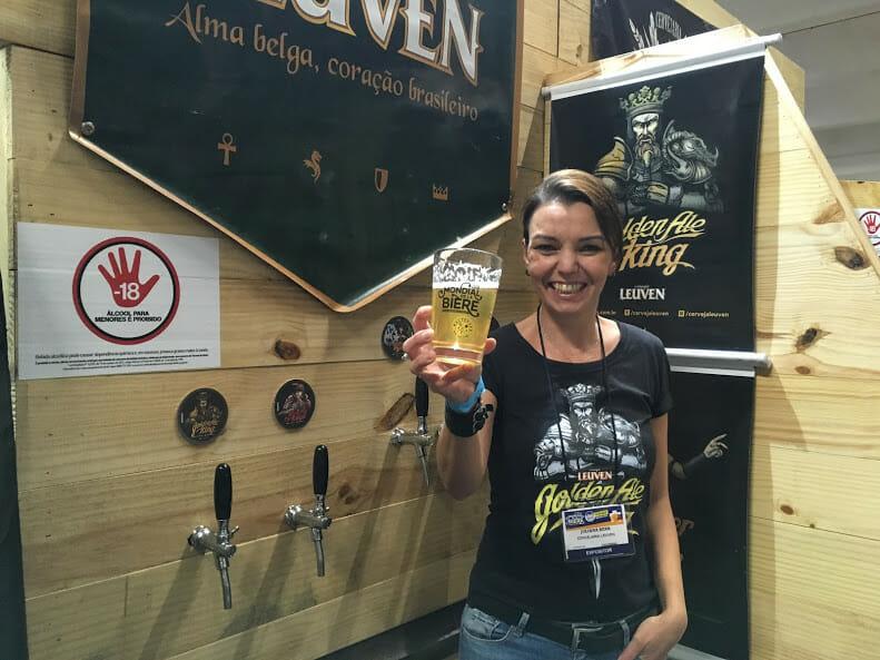 A sommelière Juliana Behr apresenta novo rótulo de sour beer com pitanga e tangerina