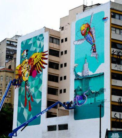 Acompanhamos o O.bra Festival, que trouxe novas cores ao centro de SP através do graffiti