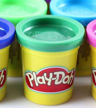 Hasbro registra o 'cheiro de infância' das massinhas Play-Doh