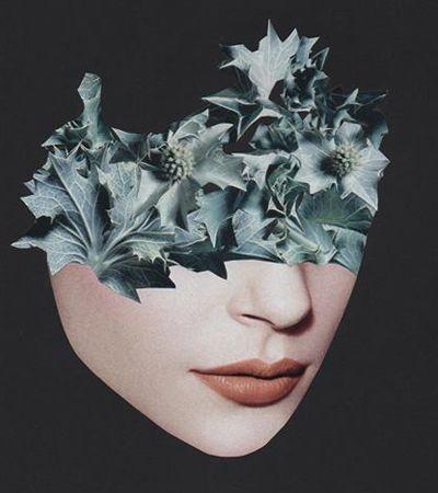 A sensualidade cheia de simbologia e provocação das colagens de Rozenn Le Gall