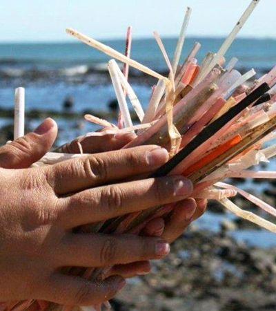 Reino Unido vai proibir canudos, cotonetes e demais produtos plásticos descartáveis