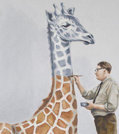 A fraqueza humana e o abuso da indústria animal pelos traços de uma ilustradora italiana