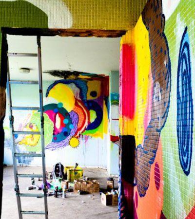 Artistas ocupam convento abandonado e fazem exposição de apenas um dia em SP