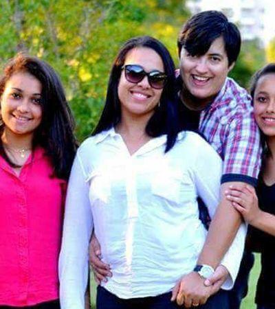 Mãe não é 'tudo igual': grávida na adolescência e mãe solo, ela deu às filhas uma segunda mãe