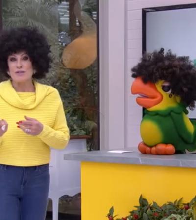 Com peruca black power e frases polêmicas Ana Maria Braga gera debate sobre representatividade e apropriação