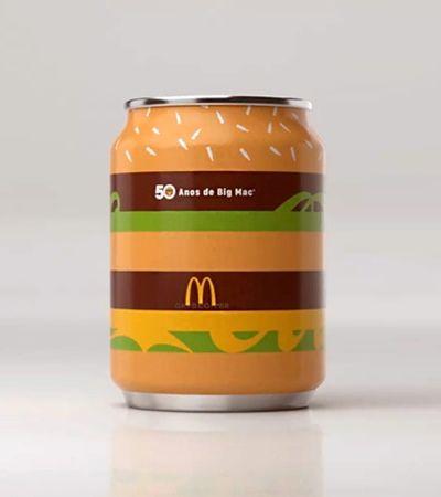 Cinquentão, Big Mac ganha versão em latinha de Coca-Cola