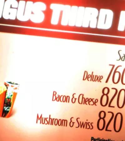 É lei: Redes de fast food precisam declarar calorias de cada produto nos EUA