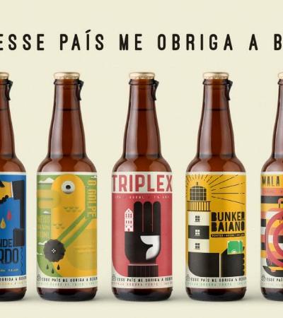 'Esse país me obriga a beber': E se os escândalos políticos fossem rótulos de cervejas?