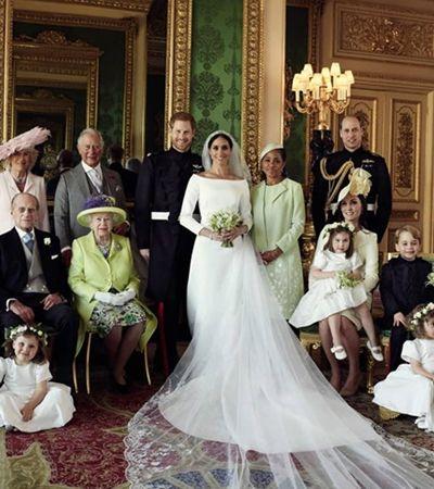 Harry e Meghan doam flores do casamento para alegrar hospital psiquiátrico