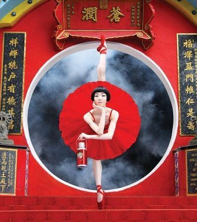 Companhia de ballet explora visual particular de Hong Kong em campanha deslumbrante