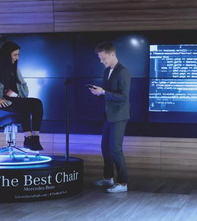 Mercedes-Benz cria 'melhor cadeira de trabalho do mundo' para atrair e recrutar candidatos