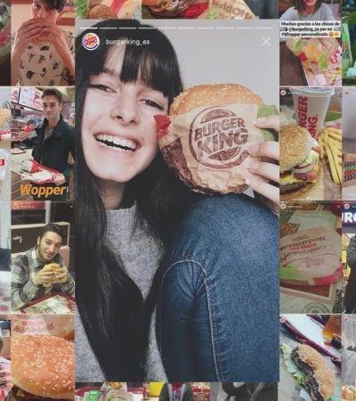 Burger King sai na frente e cria pedidos personalizados feitos pelo Stories do Instagram