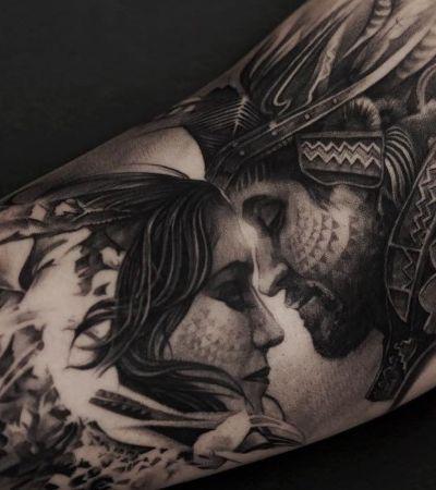 Estilo, elegância e realismo são a marca registrada das tatuagens de Oscar Åkermo