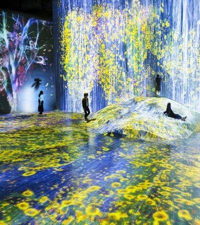 Este museu de arte imersiva e digital de Tóquio vai mudar seus conceitos de contemplação