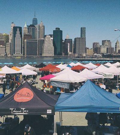 Fomos conhecer a Smorgasburg, uma feira no Brooklyn com as comidas mais estranhas que existem