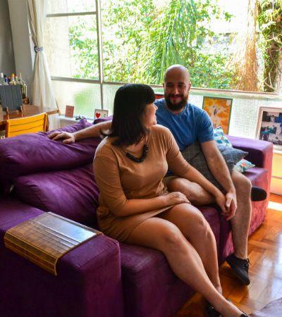 Casal faz uso do DIY para dar vida a apartamento com cara de casa de vó