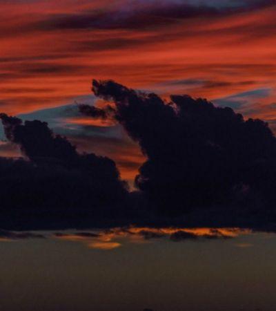 Luzes do amanhecer e do pôr do sol são registradas em lindas imagens