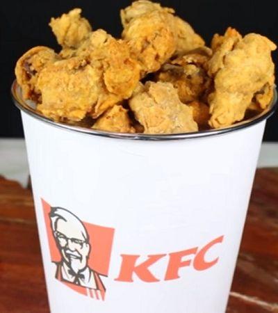 Youtubers ensinam como fazer versão vegana do balde do KFC