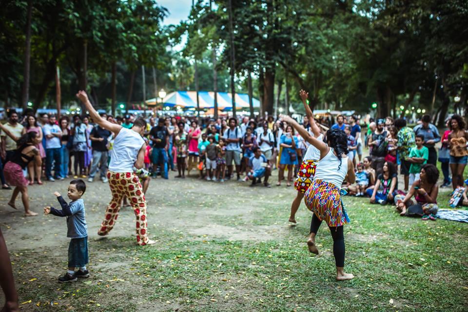 """""""Passeio é Público"""" faz sua 4ª ocupação cultural do parque no centro"""