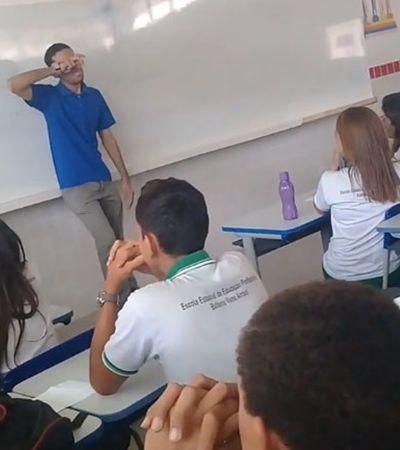 O que a solidariedade dos alunos com um professor diz sobre a educação brasileira?