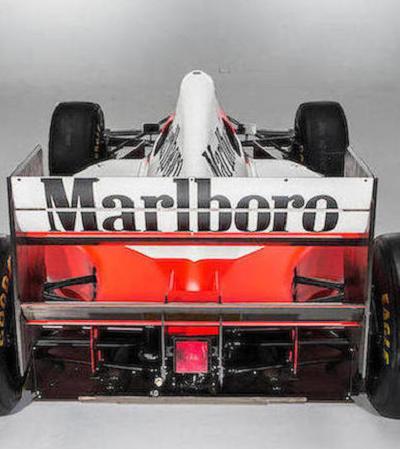 McLaren usada por Ayrton Senna em 1993 é leiloada por R$ 18 milhões