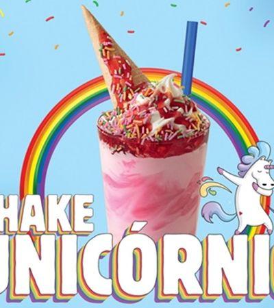 Para celebrar diversidade, Burger King lança 'shake unicórnio'