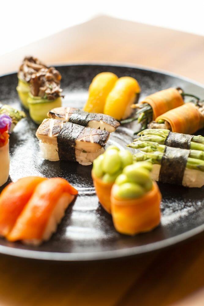 Com vocês, os sushis
