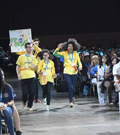 Estudantes brasileiros arrasam na maior Feira Internacional de Ciências e Engenharia do mundo