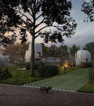 Primeira vila de casas feitas com impressão 3D está prestes a ficar pronta na Holanda