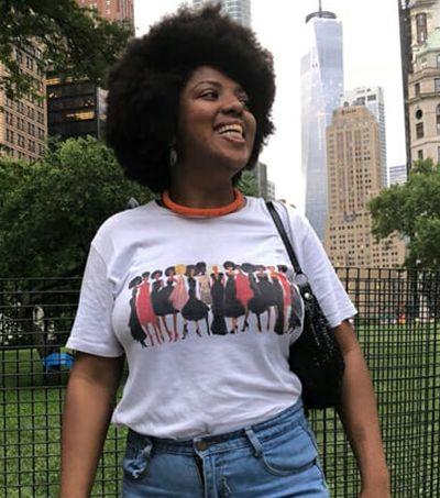 Palestrante em Universidade de NY, Alline Parreira dá aula para racistas de plantão