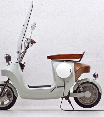 Scooter elétrica feita a partir de maconha é leve, resistente e ecologicamente correta