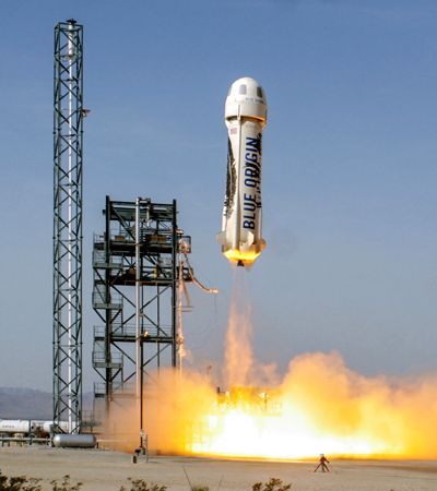 Foguete capaz de levar 6 passageiros é esperança real de turismo espacial