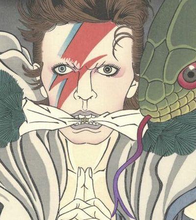 Artista transforma David Bowie em entidades místicas japonesas