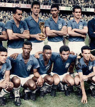 Há 60 anos, Brasil superava 'viralatismo' para vencer 1ª Copa com futebol arte