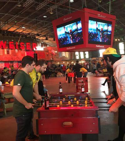Com festas, shows e jogos, Bud Basement é o lugar para ver os jogos da Copa do Mundo