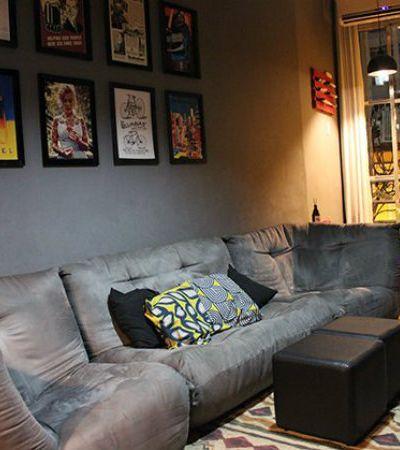 Minha Casa é Hype #4: A sala que vira pub para receber amigos