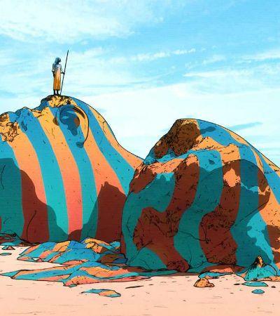 Ilustrações surrealistas ganham toque misterioso no trabalho deste artista húngaro
