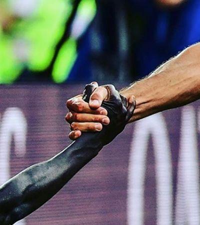 A história por trás da foto mais emblemática da Copa até aqui