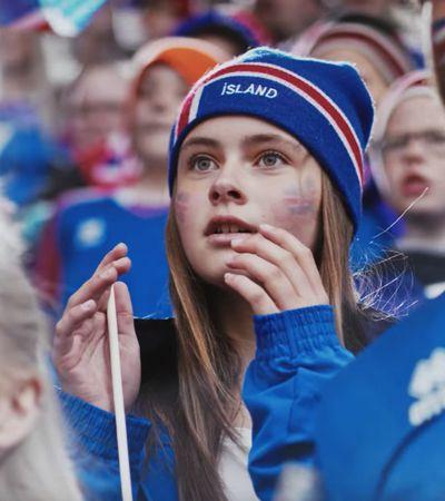 O emocionante comercial da Coca-Cola para a Islândia na Copa foi dirigido pelo goleiro da seleção