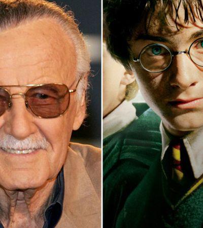 Imagina essa bilheteria… Stan Lee sugere crossover entre Marvel e Harry Potter
