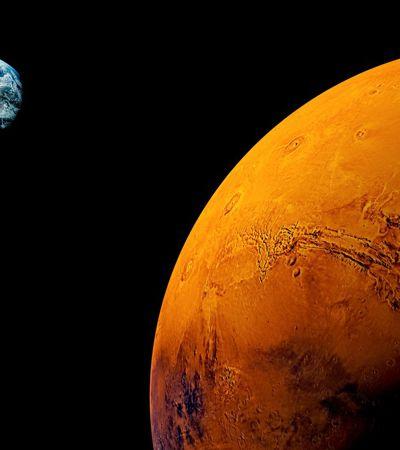 Este mês, Marte terá menor distância da Terra em 15 anos. E estará bem visível no céu