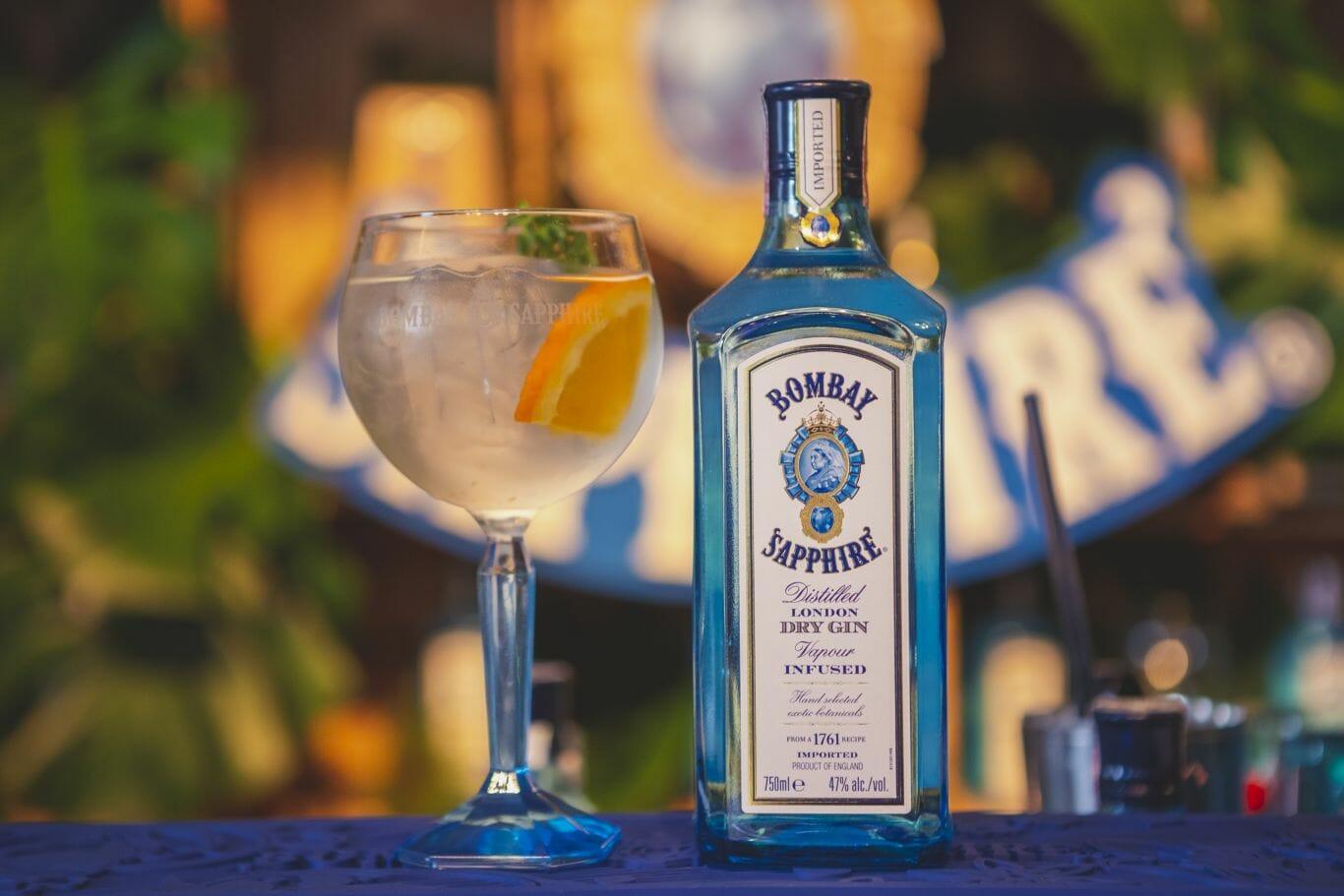 Bombay é uma das marcas participantes do World Gin Day