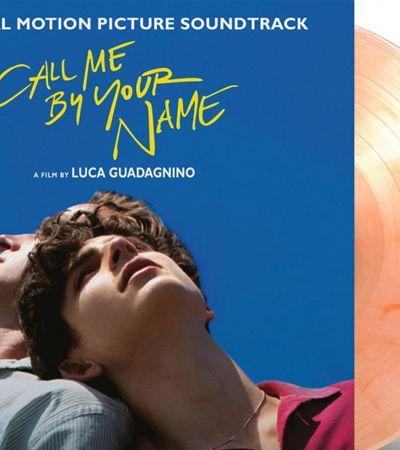 Trilha de 'Me chame pelo seu nome' ganha versão em vinil com cor e cheiro de pêssego