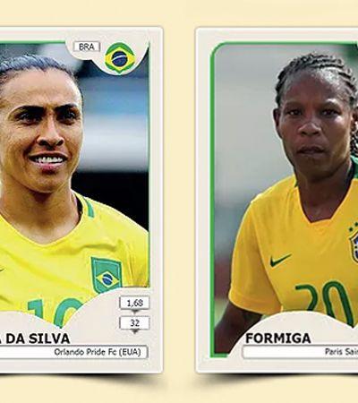 #RespeitaeCola: Criaram as figurinhas das seleções femininas para a Copa