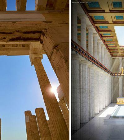 E se 7 famosas ruínas históricas fossem restauradas?