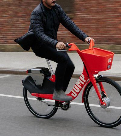 Uber começa a oferecer aluguel de bicicletas elétricas nos EUA