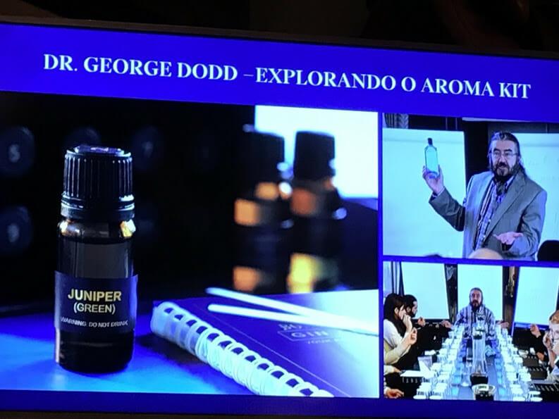 Workshop ensinou tudo sobre os aromas do gin
