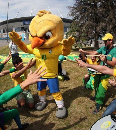 Após senegaleses e japoneses, brasileiros também recolhem lixo em jogo da Copa